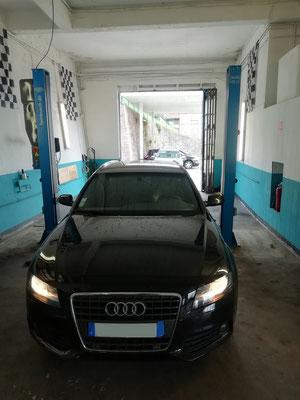 Remplacement disques/plaquettes AV + achat de deux pneus Bridgestone - Audi A4