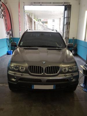 Remplacement démarreur + bougies - BMW X5