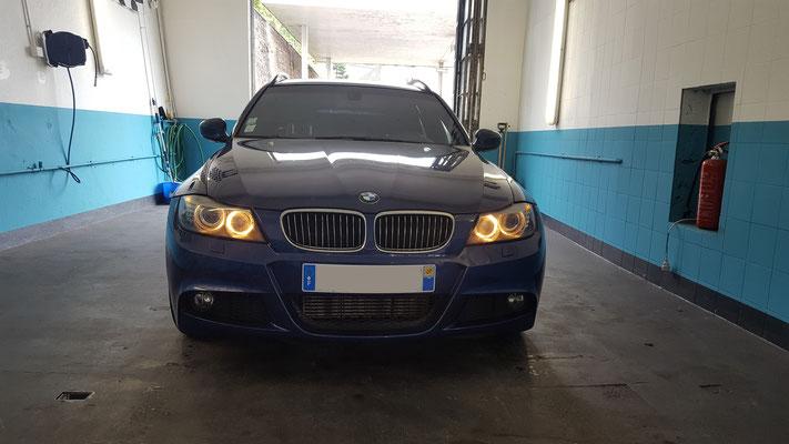 Remplacement étrier - disques - plaquettes - BMW série 3