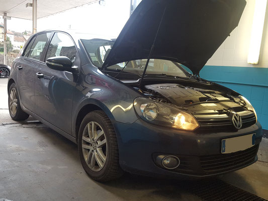 Remplacement vanne EGR + plaquettes AR - Volkswagen Golf V