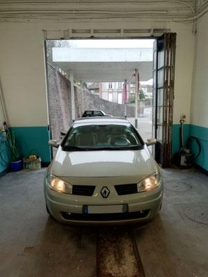 Recherche de panne / Feux de croisement - Renault Megane CC