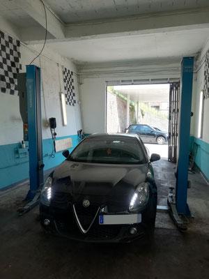 Entretien complet - Alfa Romeo Giulietta