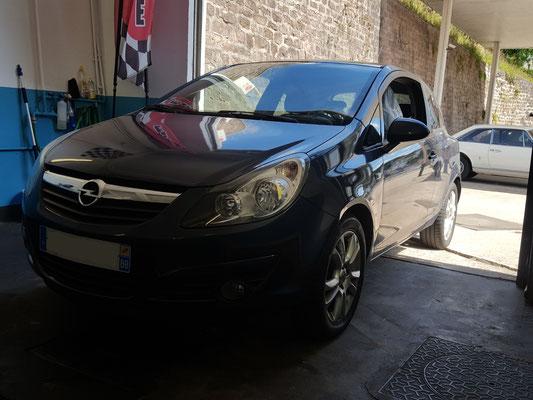 Remplacement vanne EGR + pneus - Opel Corsa