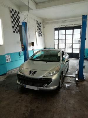"""Pneus """"HANKOOK"""" achetés au garage Drive Auto = Montage/equilibrage offerts  - Peugeot 307CC"""