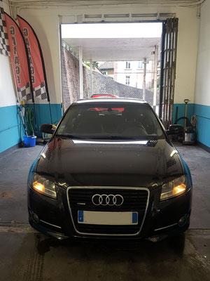 Remplacement barres stabilisatrices + manchon échappement - Audi A3