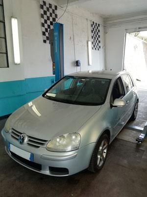 Recherche de panne OFFERT/ Manque de puissance --> Durite échangeur air remplacé - Volkswagen Golf V