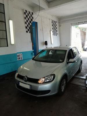Remplacement kit distribution/pompe à eau/courroie accessoire/disques et plaquettes avant/recherche de panne sur bip de stationnement - Volkswagen Golf VI