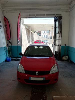 Check-up gratuit + recherche de panne - Renault Clio II