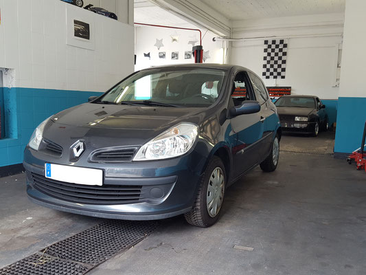 Remplacement commodo phare - Clio III