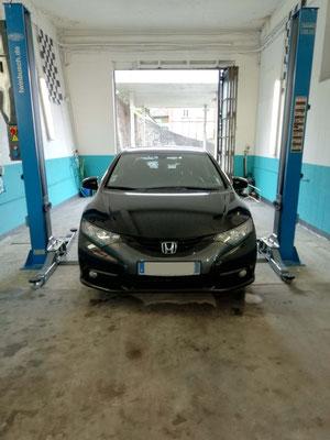 Achat de pneus au garage Drive Auto = montage équilibrage offerts - Honda civic