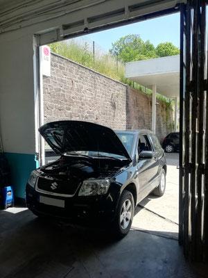 Remplacement kit distribution + pompe à eau + courroie accessoire - Suzuki Grand Vitara