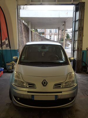 Révision vidange/filtre à huile/filtre habitacle - Renault Grand Modus