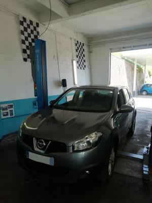 """Entretien complet + diagnostic offert + nettoyage durite """"assy"""" - Nissan Qashqaï"""