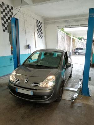 Remplacement vanne EGR - Renault Modus