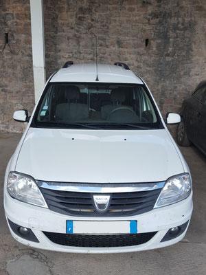 Remplacement pare-brise + freinage av + entretien complet - Dacia logan mcv