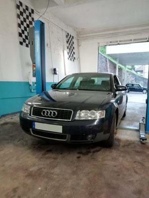 Remplacement disques + plaquettes av - Audi A4