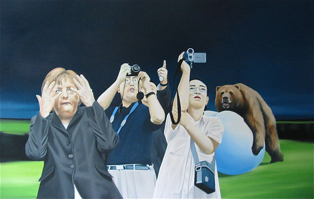 more than a feeling, 2011, Oil on Canvas, 100 x 160 cm