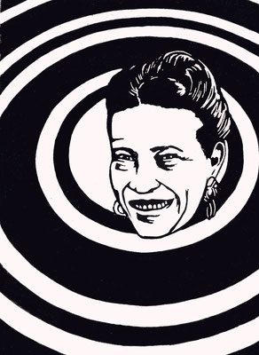 Simone de Beauvoir, 13/11/2017, Edition 5, A5