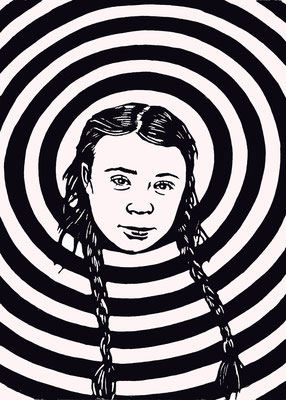 Greta Thunberg, 03/11/2018, Edition 5, A5