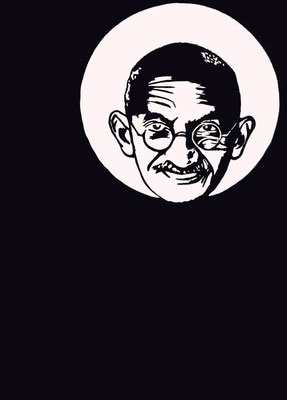 Mahatma Gandhi, 25/11/2017, Edition 5, A5