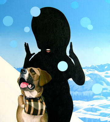 das Gesetz, 2010, Oil on Canvas, 100 x 90 cm