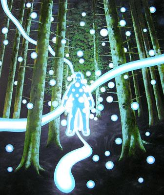 Spontan, 2015, Öl auf Leinwand, 180 x 150 cm
