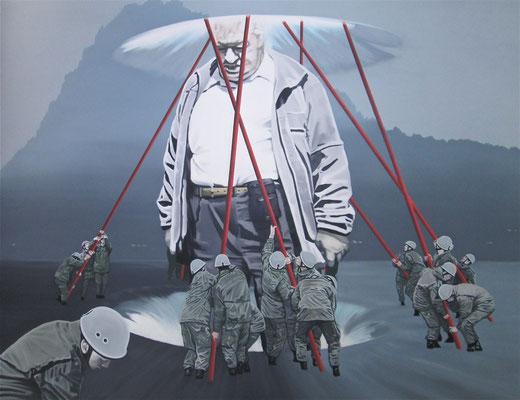 Lurelei, 2013, Öl auf Leinwand, 160 x 200 cm