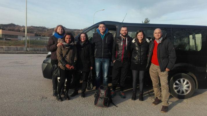 Umbria 2016 - noleggio pulmino 9 posti
