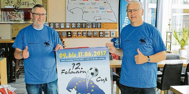 """Die """"Väter"""" des Fehmarn Cups: Jürgen Fendt und Ralf """"Hänschen"""" Albers"""