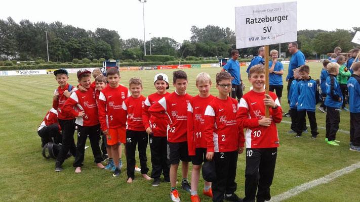 Die Lauenburger holten als sechster Verein aus Schleswig-Holstein einen Fehmarn-Pokal