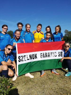 Zum dritten Mal in den letzten vier Jahren ging der Sieg bei den Mädchen an ein ungarisches Team