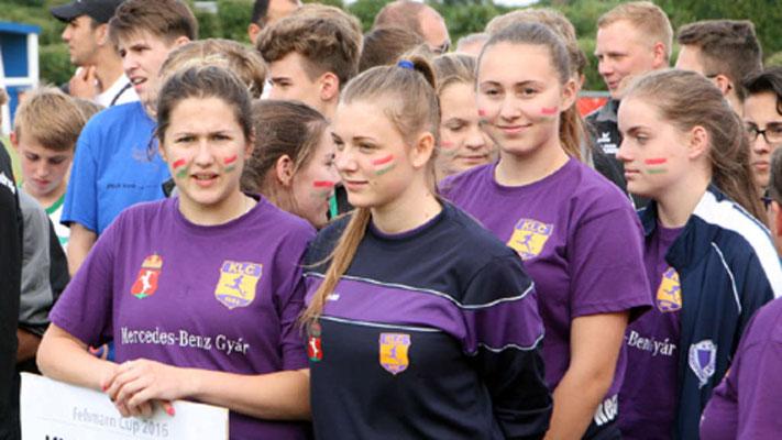 Die Girls aus dem Herzen Ungarns - Kecskemét - zwei Tage vor dem Pokalgewinn