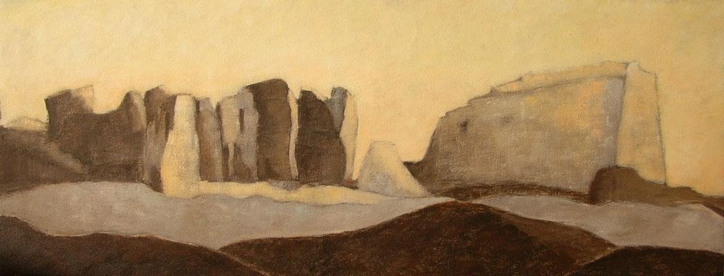 Muraille de terre (Egypte) 100X40