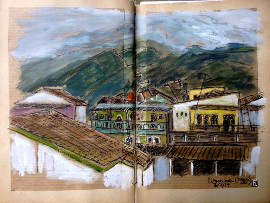 Cisuara (village à 1 000 m d'alt.)