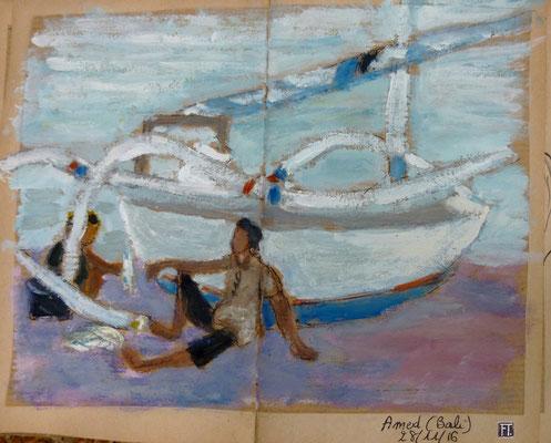 retour de pêche à Amed
