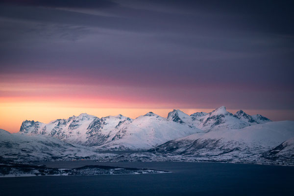 One of the most dramatic sunsets I have ever seen. Captured in Norway.