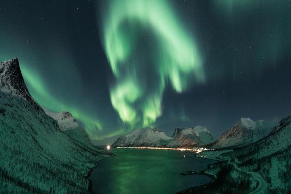 Aurora above Bergsbotn.