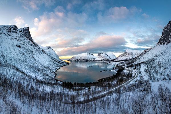 Bergsbotn, Senja, Norway.