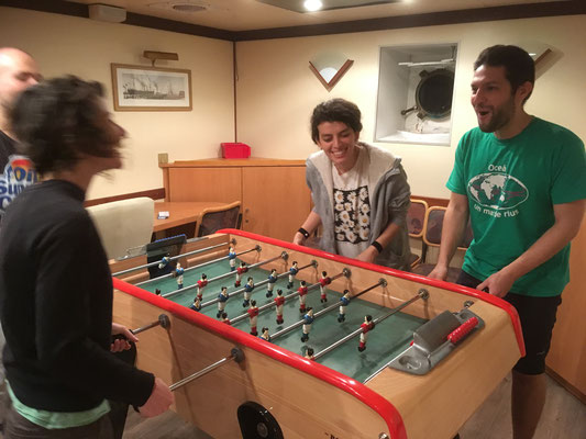 Table football competition