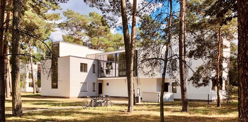 Bauhaus, Baukultur in Dessau, beeindruckende Meisterhäuser, Walter Gropius Architekt