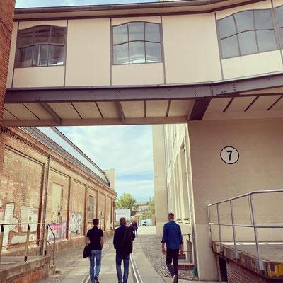 Transfortmation Industriebauten, Leipzig urbanes Leben für Kunst, Kultur und Galleristen