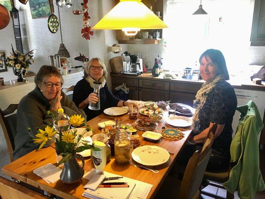 Beim Mittagessen – auf Dänisch Frokost