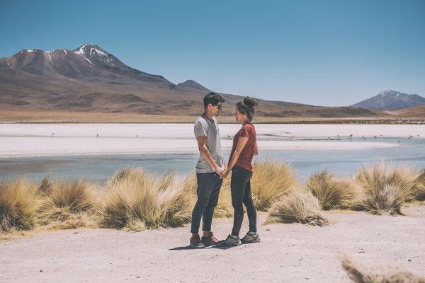 Laguna Hedionda Bolivien