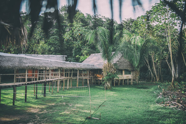 Lodge im Amazonas