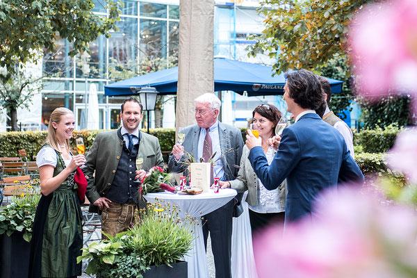 Hochzeit Wirtshaus im Braunauer Hof München