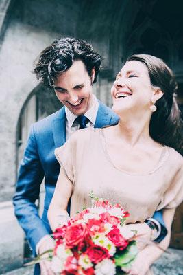 Hochzeit im Kleinen Sitzungssaal im Münchner Rathaus am Marienplatz
