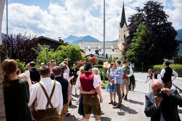 Hochzeit am Schliersee