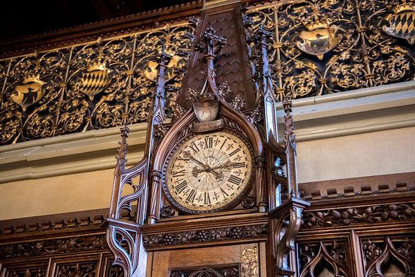 Historische Uhr im Kleinen Sitzungssaal