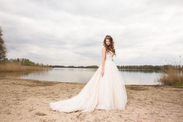 Romantische bruiloft foto's