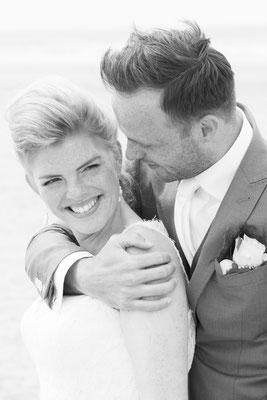 Bruidspaar romantisch